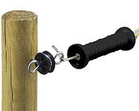 Poign�e isolante � ressort extension avec isolateur, l'unit�