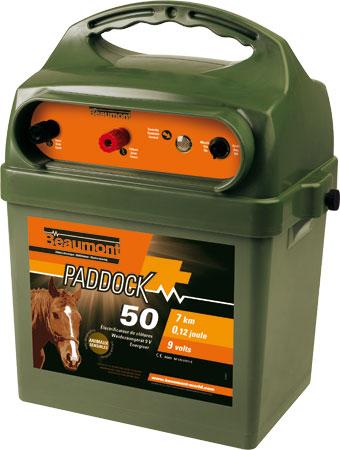 Poste à pile PADDOCK 50 9V