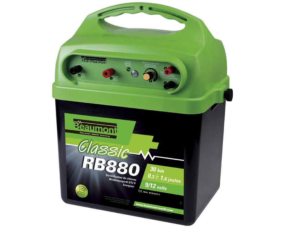 Poste batterie CLASSIC RB880 R6 9V/12V