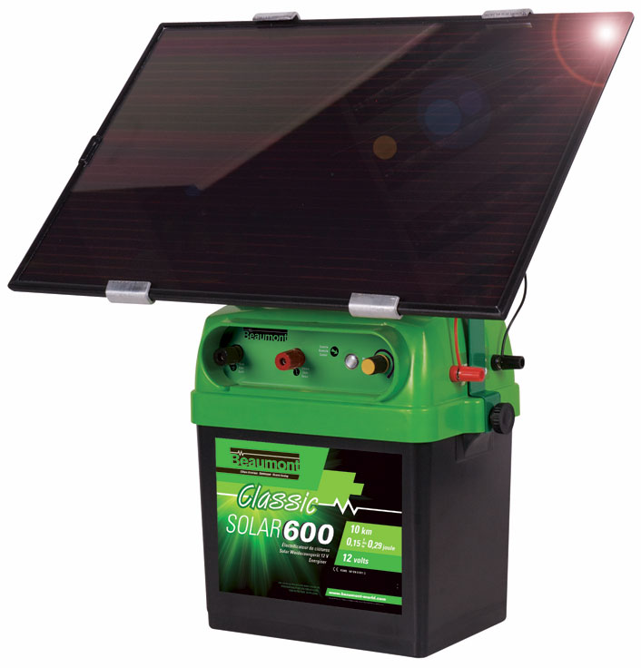 poste solar 600 panneau solaire 6w batterie 12v la ferme de beaumont les postes. Black Bedroom Furniture Sets. Home Design Ideas