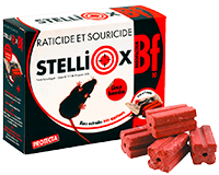 Souricide raticide Galet Stelliox
