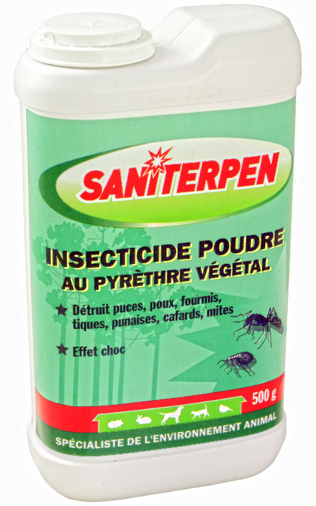 Insecticide Saniterpen