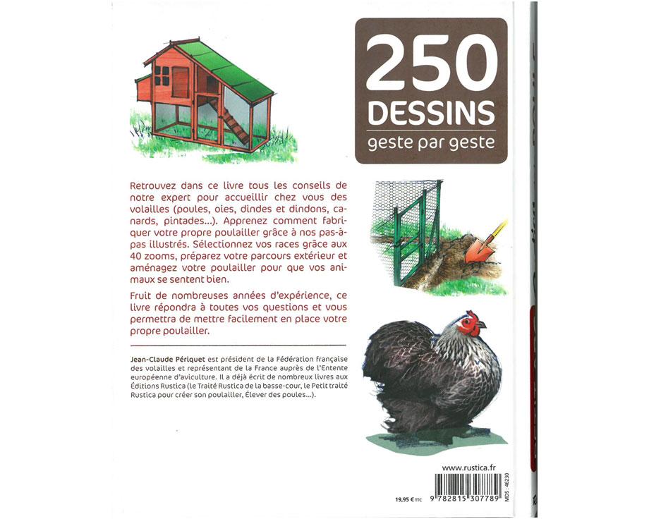 Livre Petit ABC Rustica de la poule
