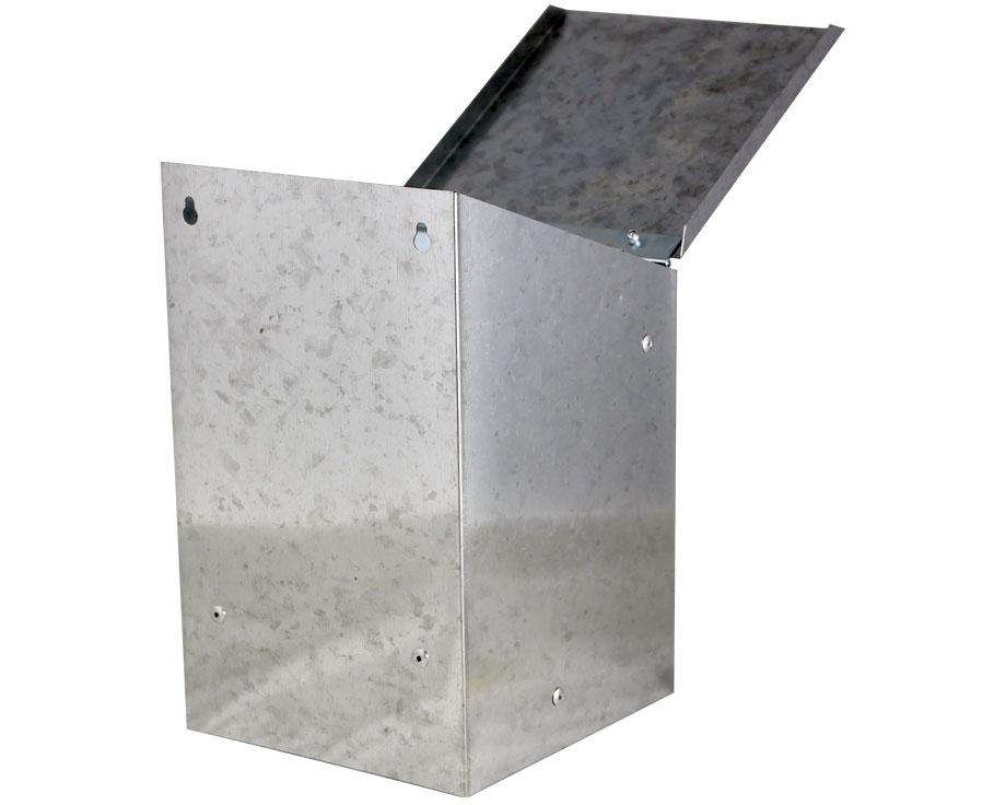 Mangeoire à trémie métal 2,5 kg