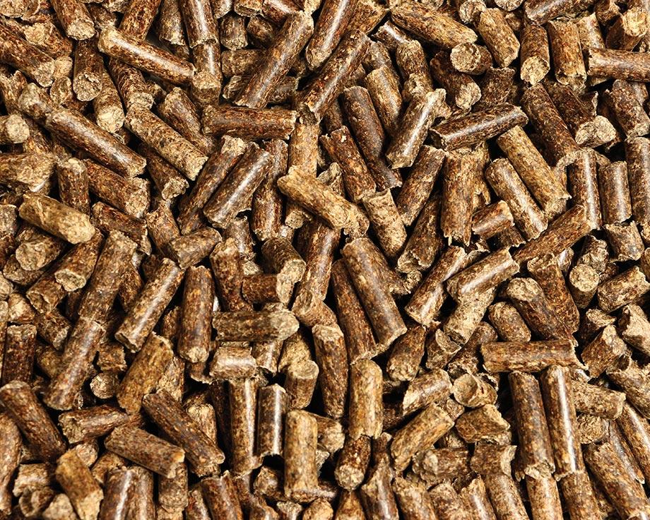 Litière végétale granulés