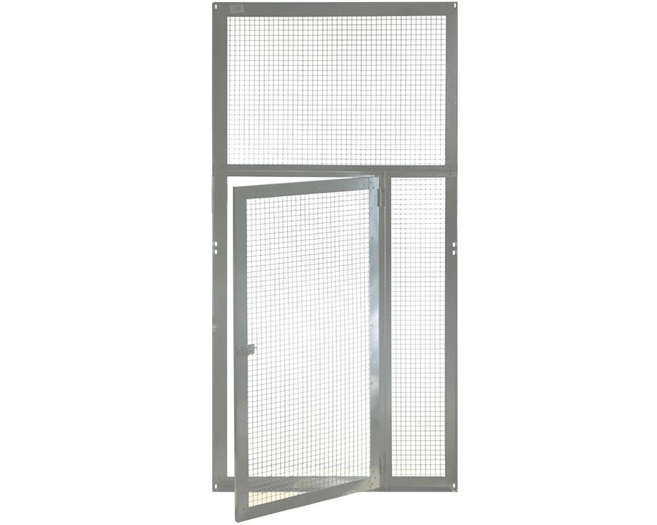 Panneau 95 x 190 cm grillagé avec porte