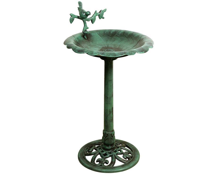 fontaine bain oiseaux la ferme de beaumont animaux du