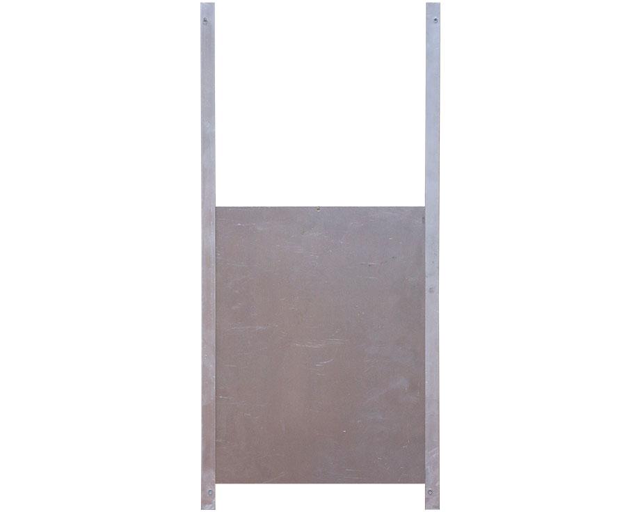 Trappe de sortie aluminium L