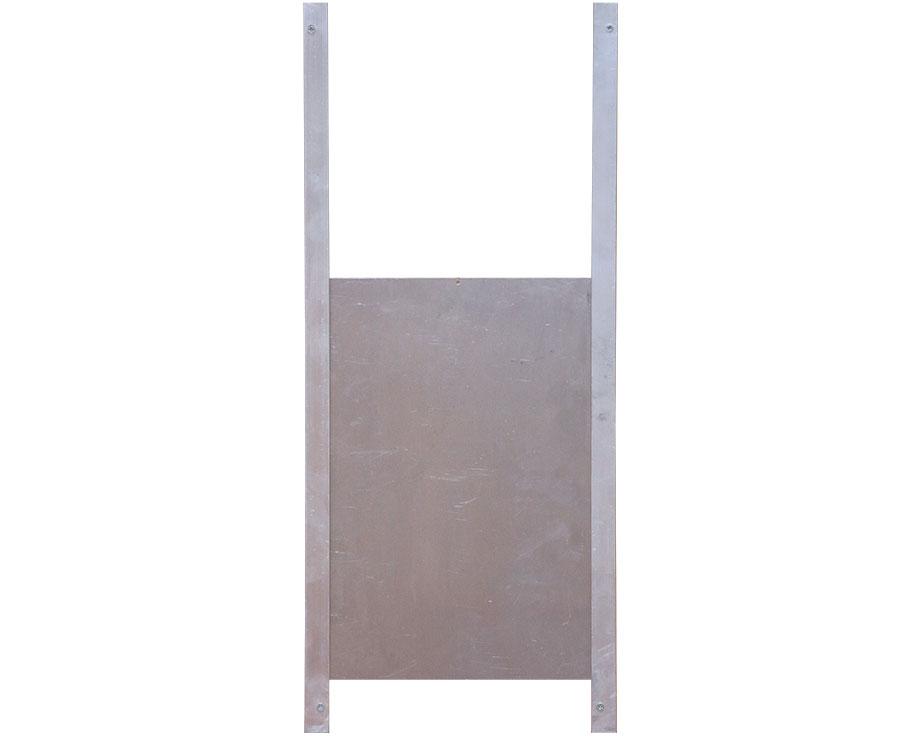 Trappe de sortie aluminium M