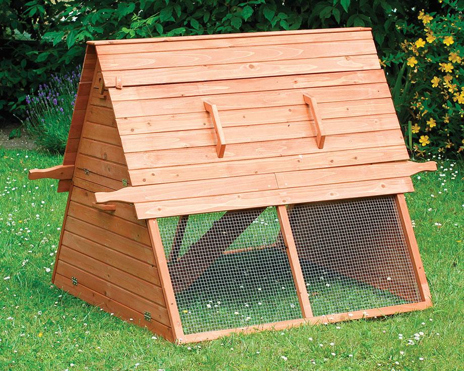 poulailler transportable en bois montana la ferme de beaumont. Black Bedroom Furniture Sets. Home Design Ideas