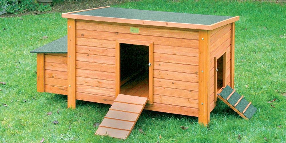poulailler en bois vente de poulailler la ferme de beaumo. Black Bedroom Furniture Sets. Home Design Ideas