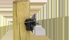 Isolateur mixte bois acier RBU