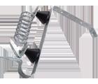 Isolateur parafoudre � ressort