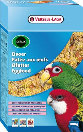 Pâtée aux oeufs sèche perroquets