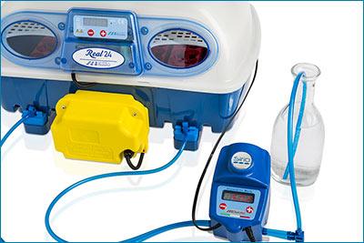 Couveuses Borotto - Régulation automatique humidité Sirio