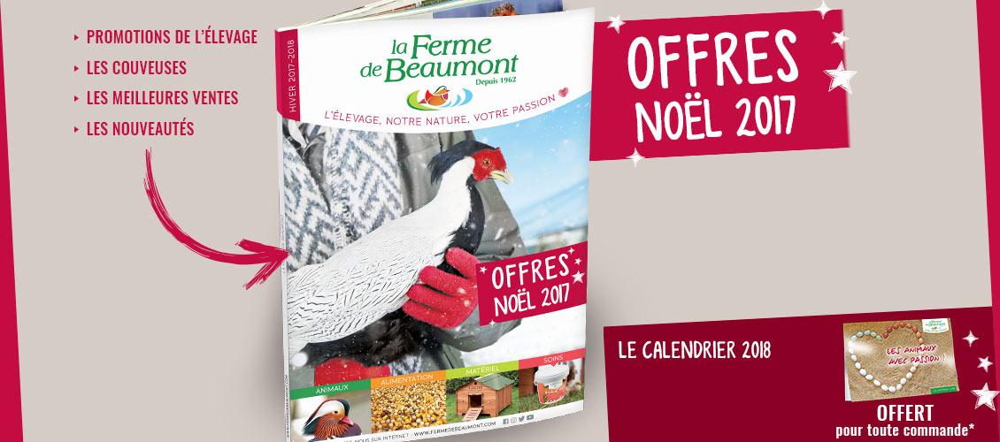 Offres Noël 2017 Ferme de Beaumont